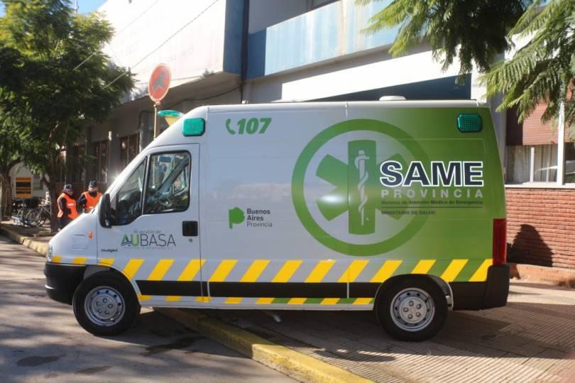 aubasa dona ambulancias a los municipios de ruta2