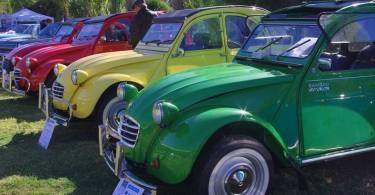 citroen 3cv en expo auto argentino