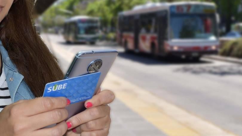 Carga SUBE con smartphone Motorola