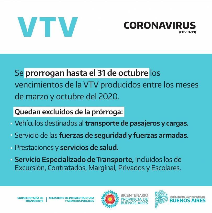 prorroga-VTV-bonaerense-al-31-10-2020